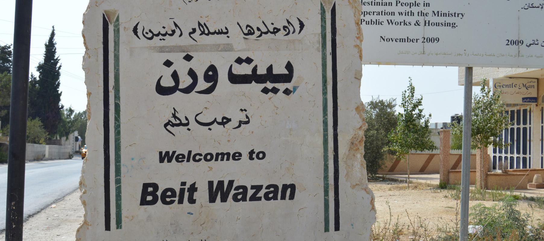 Beit Wazan, Palestine