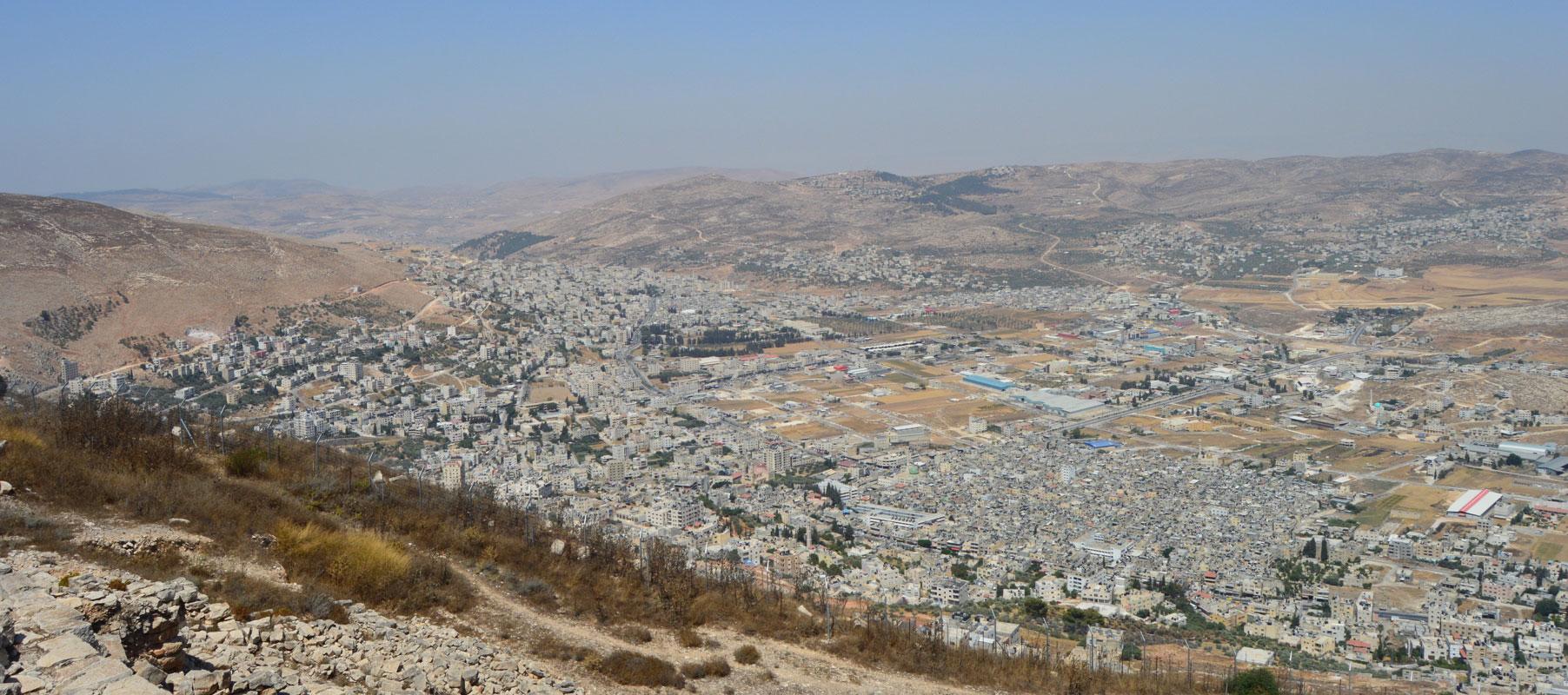 Nablus City, Palestine