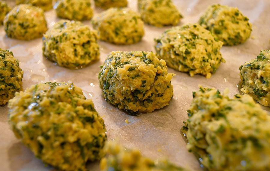 Parsley falafel recipe