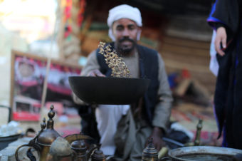 Coffee and Cardamom on the Streets of Palestine - Mohammed Zaanoun